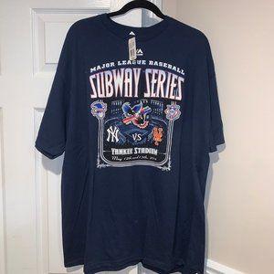 Rare 2014 Subway Series Yankees v. Mets T-Shirt